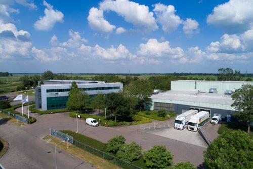 Het huidige bedrijventerrein van Boom B.V. in Meppel