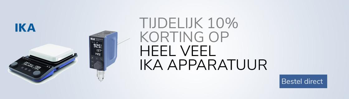 IKA apparatuur met 10% korting