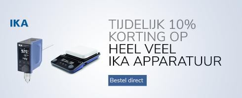 IKA apparatuur met 10% korting - mobiel