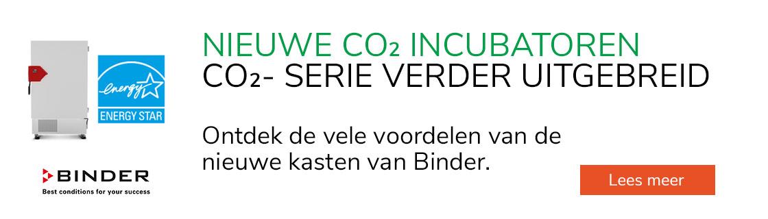 Nieuwe CO2-incubatoren van Binder