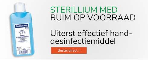 Sterillium slider op voorraad - mobiel