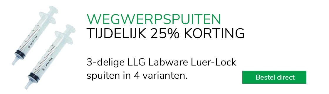 LLG wegwerpspuiten
