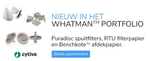 Nieuw in het Whatman assortiment